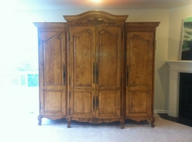 The Sterling Collection 3 Piece Entertainment Armoire